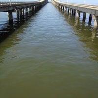 Photo taken at Lake Pontchartrain Causeway by Jason H. on 3/31/2012