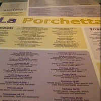 Photo taken at La Porchetta by Amir B. on 3/10/2012