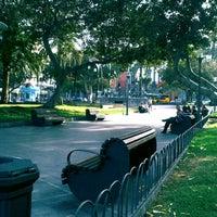 Photo taken at Parque San Telmo by RIVERA ♡ on 7/19/2012