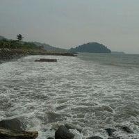 Photo taken at Pantai Padang by patrisa a. on 9/9/2011