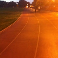 Photo taken at Campbell Community Center Track by gessika.👽 on 7/15/2012