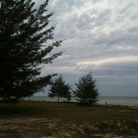 Photo taken at Layang-layangan Beach by Anoth R. on 8/31/2011
