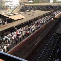 Photo taken at Dadar Railway Station by Jay R. on 3/14/2012