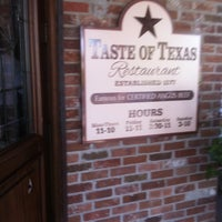 Photo taken at Taste of Texas by Mark H. on 4/6/2011
