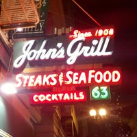 Photo taken at John's Grill by Jamil S. on 9/22/2011