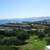 Photo taken at Porto Elounda Golf & Spa Resort by Serge P. on 9/27/2011