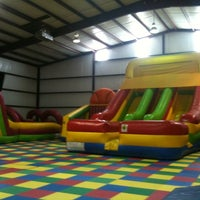 Photo taken at Jump'n Jungle by Alex F. on 6/9/2011