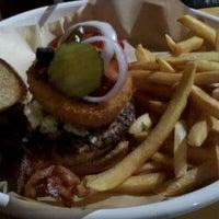 Photo taken at Monsoon Burger by Megan W. on 1/7/2012