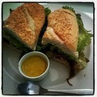 Photo taken at Bogart Café by Allana A. on 8/20/2012