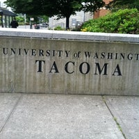 Photo taken at University of Washington Tacoma by josh d. on 6/18/2012