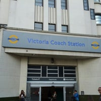 Photo taken at Victoria Coach Station by syafuan c. on 8/20/2012