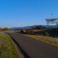 Photo taken at Stanford Dish Trail by Greg B. on 3/11/2012