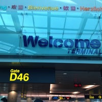 Photo taken at Gate D46 by Apinan L. on 7/7/2012