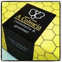 Photo taken at A Colmeia Confeitaria by CATARINA M. on 7/27/2012