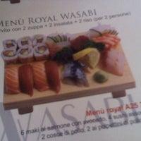 Photo taken at Wasabi Sushi by Alex K. on 11/12/2011