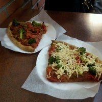 Photo taken at Cafe Viva Gourmet Pizza by Leah N. on 1/27/2012