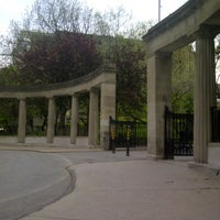 Photo taken at Roddick Gates (McGill) by Steven S. on 5/12/2012