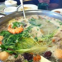 Photo taken at Little Sheep Mongolian Hot Pot by Maryann C. on 8/8/2011