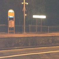 Photo taken at Bowden Railway Station by Rhi on 3/3/2012