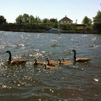 Photo taken at Sunbury lock by Emilio B. on 5/26/2012