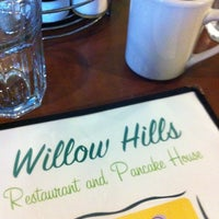 Photo taken at Willow Hills Restaurant & Pancake House by Jeremy W. on 5/12/2012