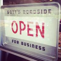Photo taken at Gott's Roadside by Courtney on 4/22/2012