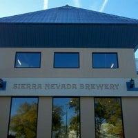 Photo taken at Sierra Nevada Brewing Co. by Ryan B. on 11/16/2011
