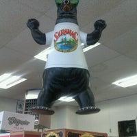 Photo taken at Brewskie's Beverage by Marcus on 11/13/2011