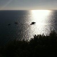 Photo taken at Scogliera di Pomonte by Cinzia P. on 9/9/2011
