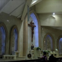 Photo taken at Gereja Santo Thomas Rasul by Victor L. on 4/16/2012