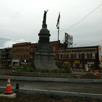 Photo taken at Oneida Square by Eric M. on 9/15/2011