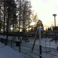 Photo taken at Pihlajarinnen Puisto by Alexander v. on 1/28/2012