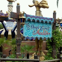 Photo taken at The Magic Carpets of Aladdin by Bill I. on 6/23/2012