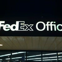 Photo taken at FedEx Office Print & Ship Center by Michael M. on 5/27/2012