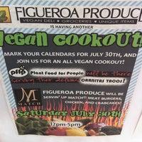 Photo taken at Figueroa Produce Market & Deli by Jeffro S. on 7/30/2011