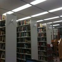 Photo taken at AU – Bender Library by Yaniv N. on 4/27/2011