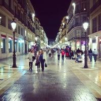 Photo taken at Marqués de Larios Street by Jorge S. on 5/4/2012