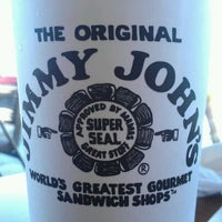 Photo taken at Jimmy John's by Laura C. on 3/26/2012