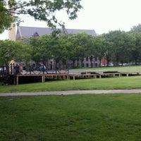 Photo taken at URI Quad by Geoffrey B. on 5/16/2012