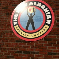 Photo taken at New Albanian Brewing Company by Dan S. on 3/28/2012
