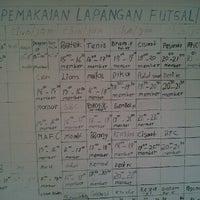 Photo taken at Lapangan Tennis Margaasih by Nino C. on 6/12/2012