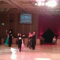 Photo taken at Alexandria Mark Hilton Ballroom by Robertas M. on 8/24/2012
