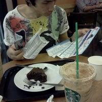 Photo taken at Starbucks by Pookiie B. on 9/24/2011