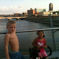 Photo taken at Pedestrian Bridge by Jennifer H. on 8/10/2012