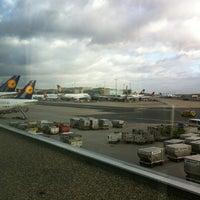 Photo taken at Lufthansa Business Lounge A (Schengen) by João M. on 12/29/2011