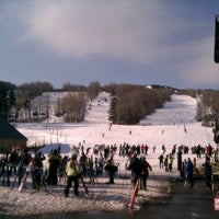 Photo taken at Mount Snow Main Base Lodge by Stephen R. on 1/7/2012