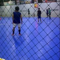 Photo taken at MSC Futsal (First Internasional Futsal Court In Tabalong) by Wahyu T. on 5/23/2012