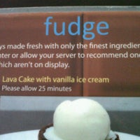 Photo taken at Fudge by Erven R. on 8/25/2012