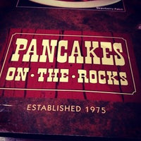 Photo taken at Pancakes On The Rocks by James M. on 7/27/2012