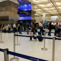 Photo taken at Terminal B by Paulina Z. on 3/26/2012